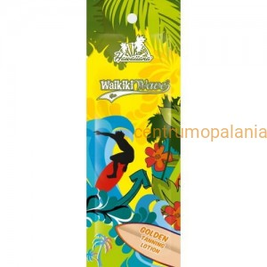 15ml WAIKIKI Golden Tanning Lotion Balsam do opalania w saszetce